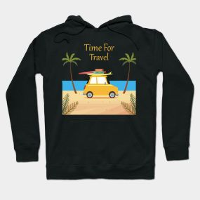 Time To Travel Hoodie SR2D