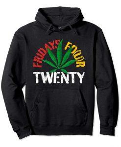 Twenty Marijuana Hoodie SR18D