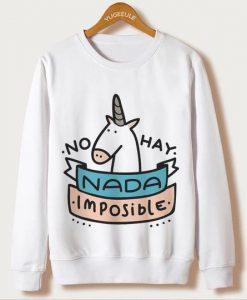 Unicorn Print Sweatshirts FD3D