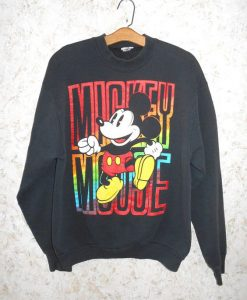 Vintage 80s Mickey Sweatshirt FD3D