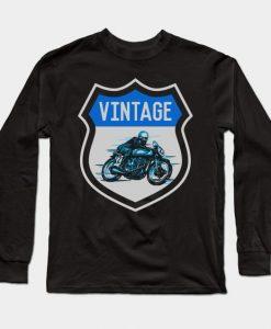 Vintage biker Sweatshirt SR2D