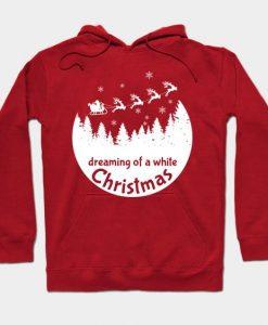 White Christmas Hoodie SR7D