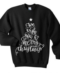 Wish merry christmas sweatshirt SR4D