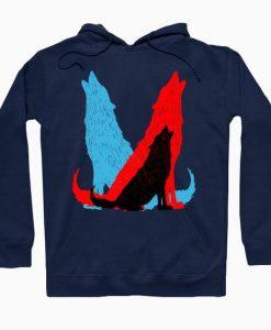 Wolves Pop Art Hoodie SR2D