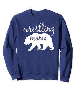 Wrestling Mom Bear Sweatshirt SR4D