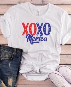 Xoxo merica t shirt SR7D