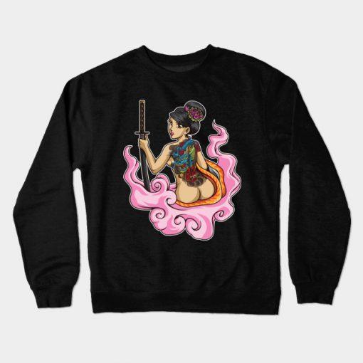 Yakuza Girl Sweatshirt SR2D