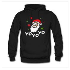 Yo yo yo Christmas Hoodie EL6D