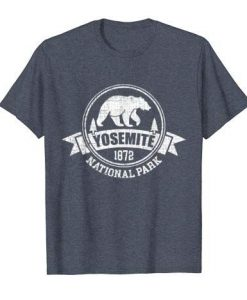Yosemite National Park Bear T Shirt SR4D