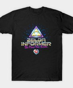 Zelda Informer T Shirt SR24D