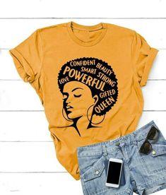 Afro Lady Tshirt EL18J0