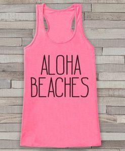 Aloha Beaches Summer Tank Top SR12J0