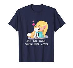 And She Lived Happily Tshirt EL18J0