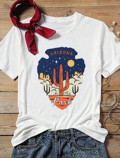 Arizona Park Tshirt EL22J0
