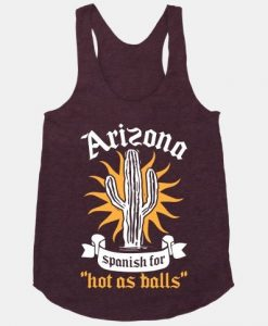 Arizona Tank Top SR21J0