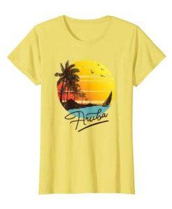 Aruba Retro Tshirt EL20J0