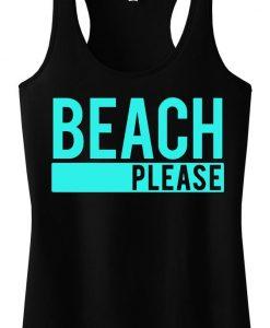 BEACH PLEASE Tank Top SR12J0