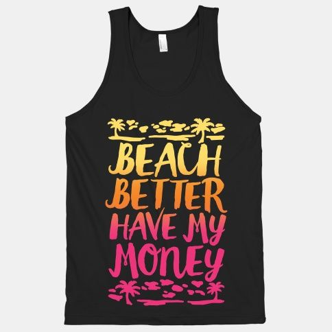 Beach Better tank top SR22J0