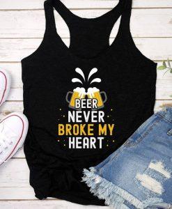 Beer Never Broke Tank Top SR21J0