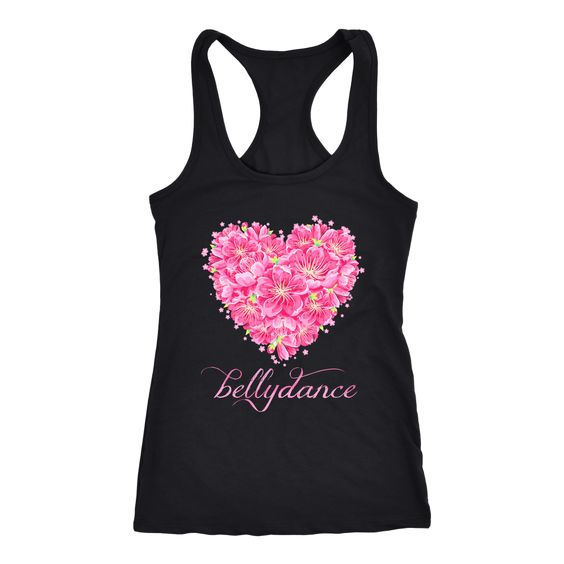 Belly Dance Heart Tank Top SR22J0