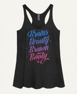 Brains Beauty Brawn Tank Top SR22J0