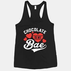 Chocolate Is My Bae Tanktop EL20J0