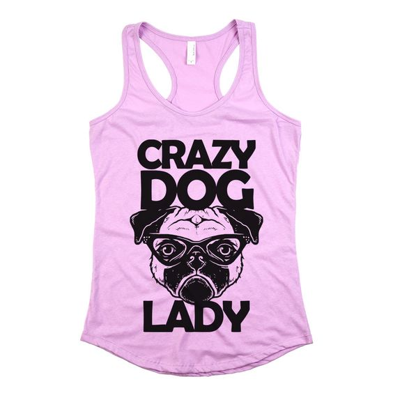 Crazy Dog Lady Tanktop FD27J0