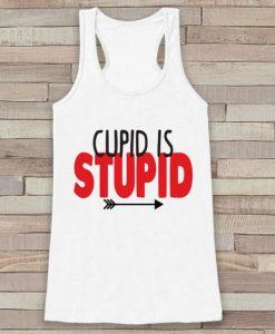 Cupid is Stupid Tank Top SR12J0