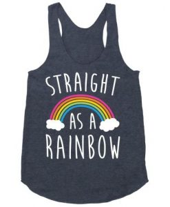 Straight As A Rainbow tanktop FD27J0