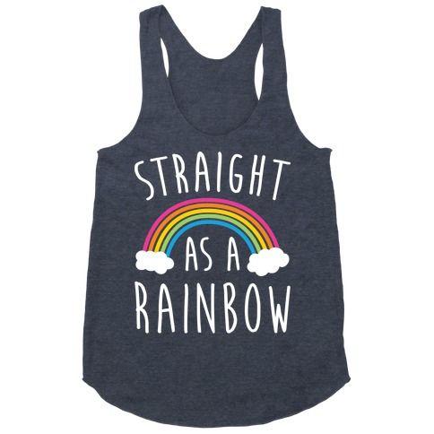 Straight As A Rainbow tanktop FD27J0