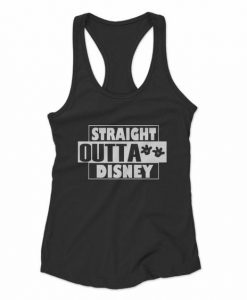 Straight Outta Disney Tank Top SR21J0