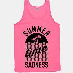 Summer Times Sadness Tanktop EL20J0
