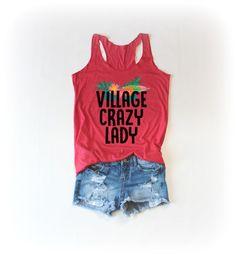 Village Crazy Lady Tanktop EL22J0