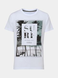 White Surf T-Shirt DL24J0