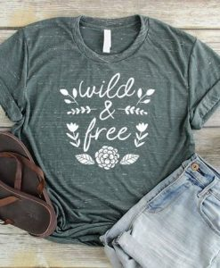 Wild And Free Shirt FD23J0