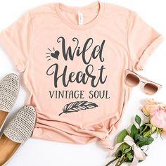 Wild Heart Tshirt EL24J0