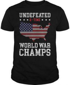 World War Champs Tshirt FD27J0