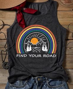 Your Road Rainbow Tank Top SR21J0