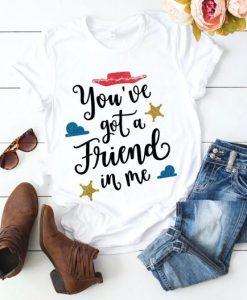 You've Got A Friend Tshirt EL24J0
