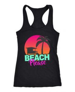 beach please tank top SR22J0