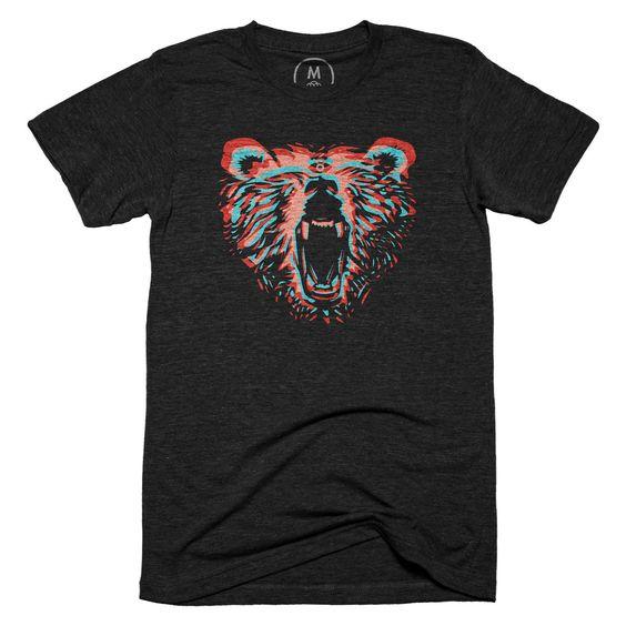 3D Bear Tshirt FD4F0