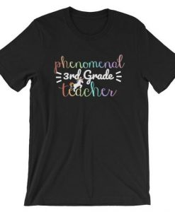 3rd Grade Teacher T-Shirt ND10F0