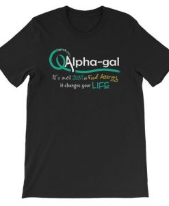 Alpha gal Awareness T-Shirt ND10F0