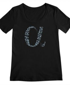 Alphabet T-shirt ND10F0