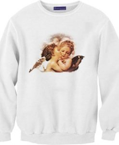 Angel Cheek Kiss Sweatshirts FD4F0