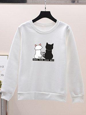 Animal Print Sweatshirt EL5F0