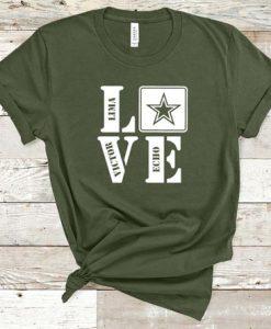 Army Love Tshirt FD27F0