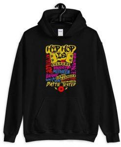 Black Hip-Hop Hoodie Fd7F0