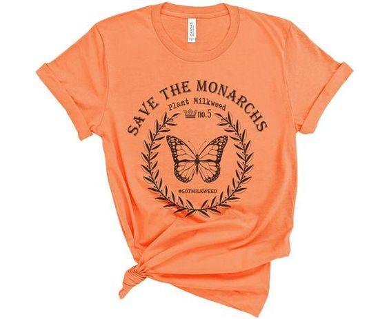 SAVE THE MONARCHS T-shirt FD27F0