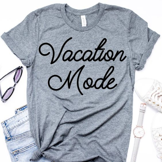 Vacation mode T shirt SR6F0